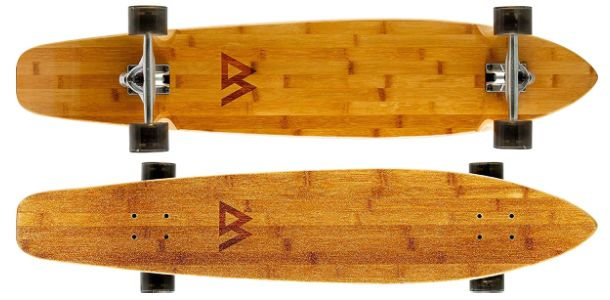 Magneto 44 inches Kicktail Cruiser Longboard Skateboard