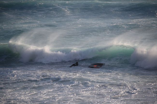 JUlien Bouyer Duck Dive Naish Wing