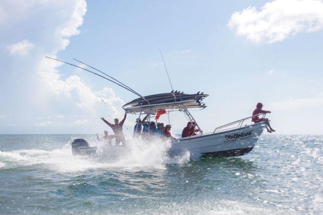 panga boat Genration xperiences punta mita mexico sunova
