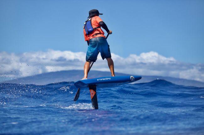Air France paddle festival zane schweitzer foil starboard