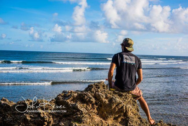 Barbados jason Latham KeNalu tee