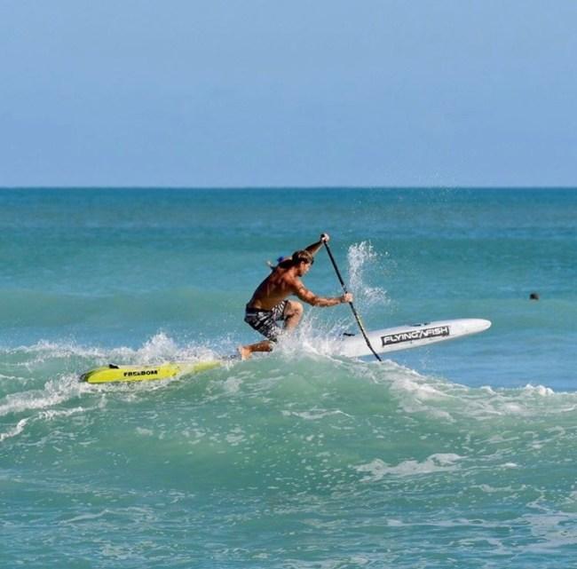 Josh Riccio Flying Fish John Meskaukas photo