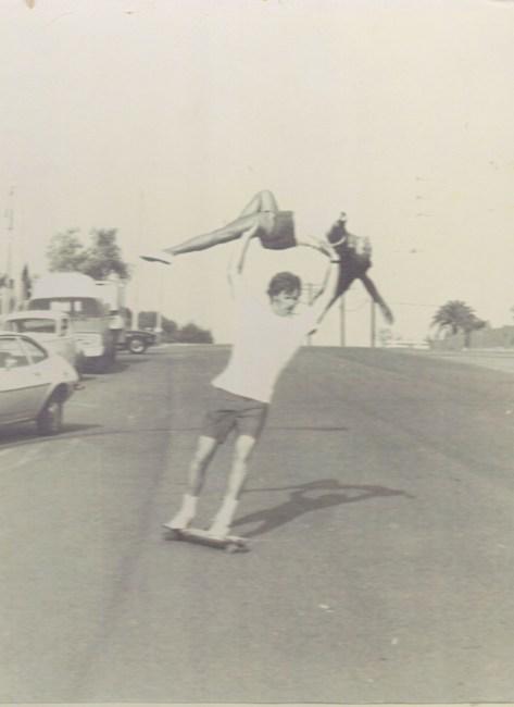 Steve Boehne Barrie Boehne tandem skateboard Infinity Surf