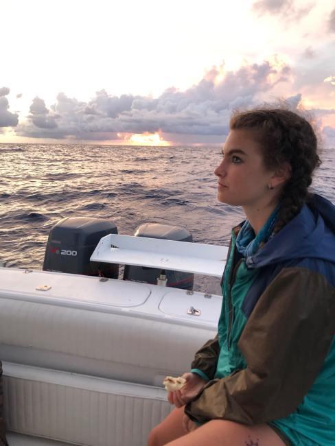 Chloe Dubois Crossing for CF profile shot sunset