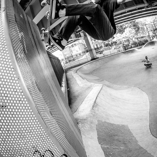 Frontside air.