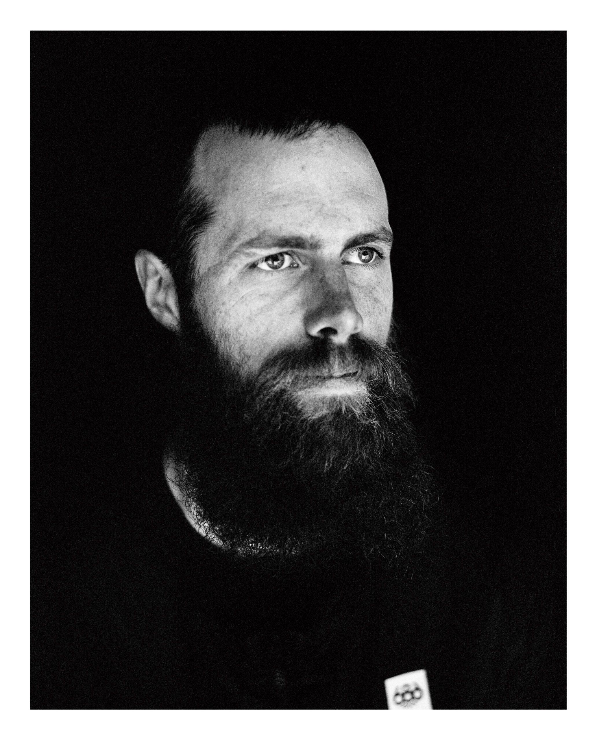 Phil Jacques snowboarder portrait