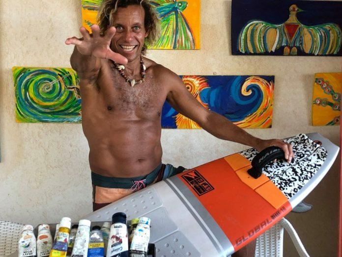 Brian Talma Beach Culture World Tour Naish Barbados
