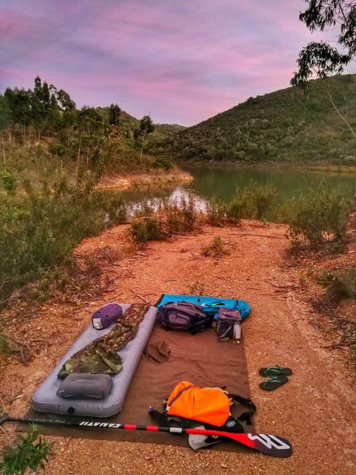 Nick Robinson United Kingdom SUPfm podcast camping