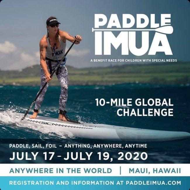 Paddle Imua stand up paddle race