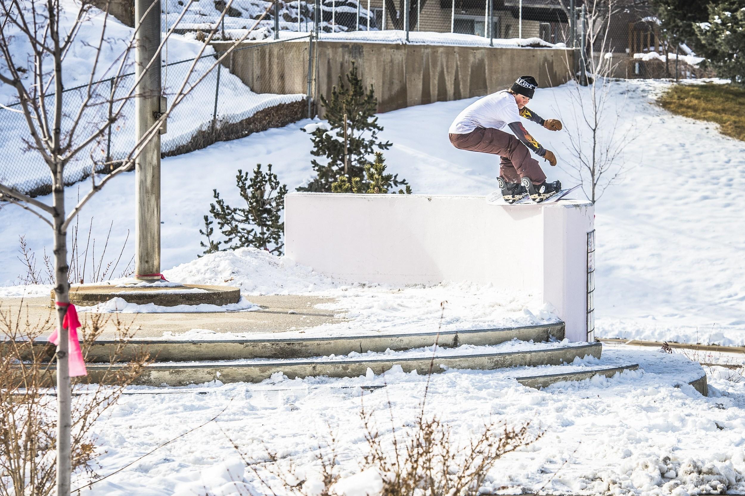 Jill Perkins Snowboarder