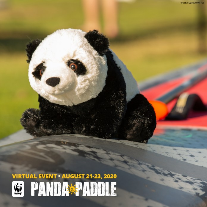 Virtual Panda Paddle World Wildlife Fund conservancy