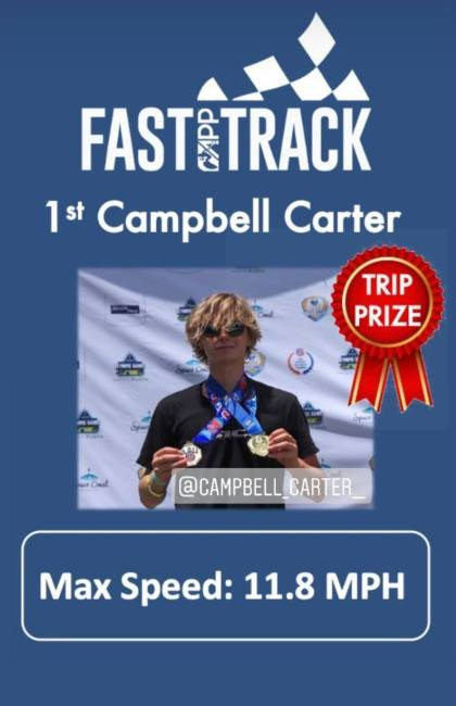 Campbell Carter APP World Tour Fast Track