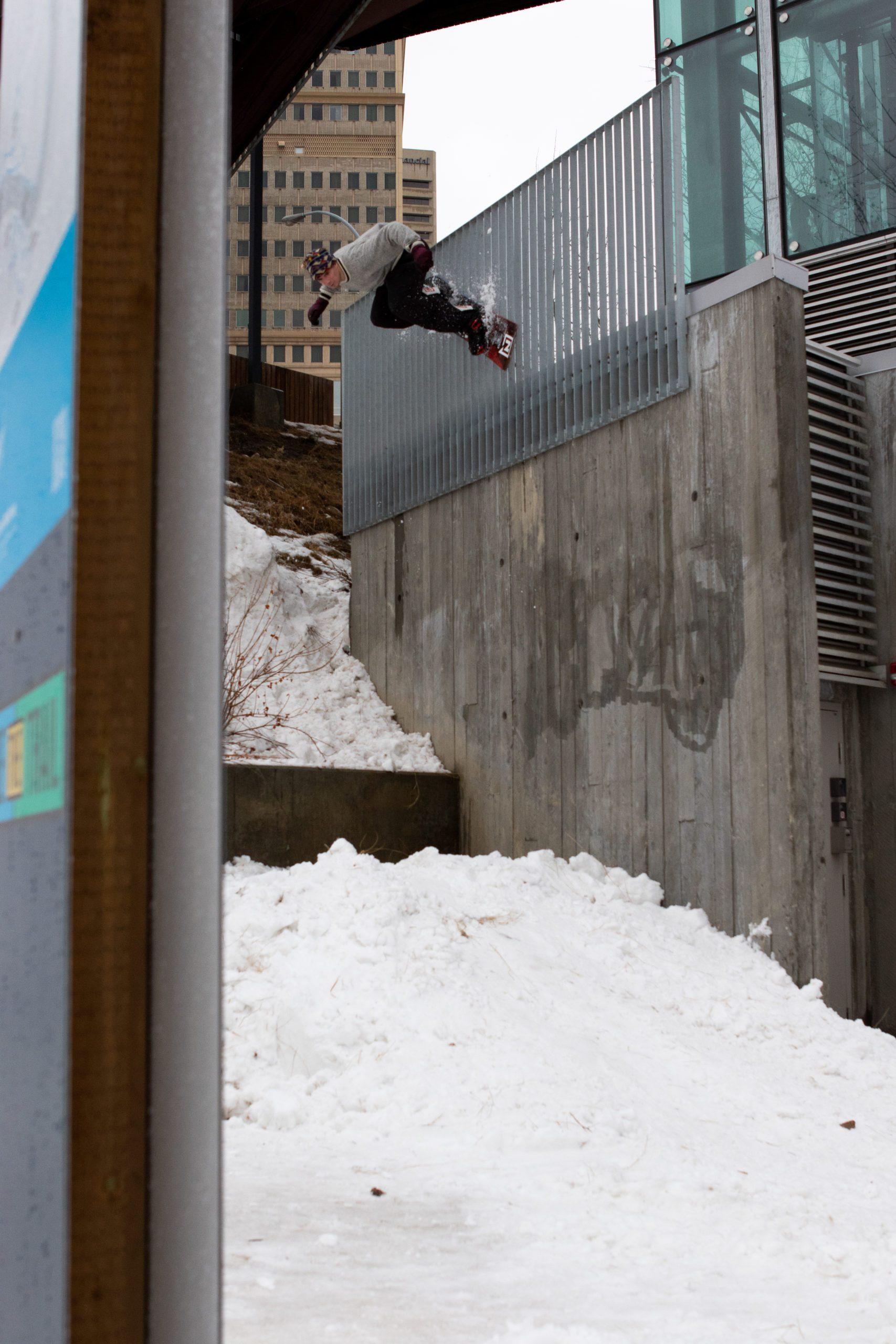 SRD Simulation snowboarding Full Movie