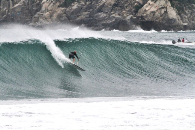 Before the Wipeout Puerto Escondido.