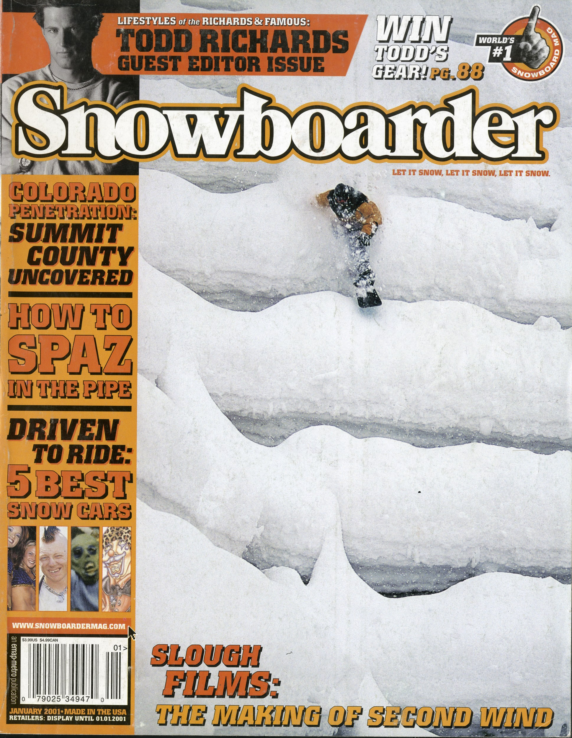 Keir Dillon interviewed by Trevor Andrew SNOWBOARDER Magazine