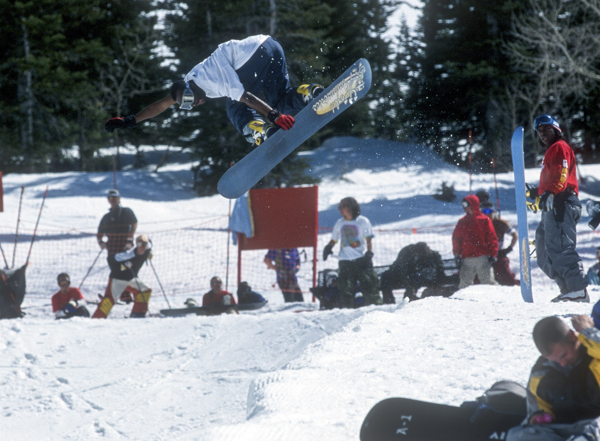 Russell Winfield Snowboarder Magazine cover interview