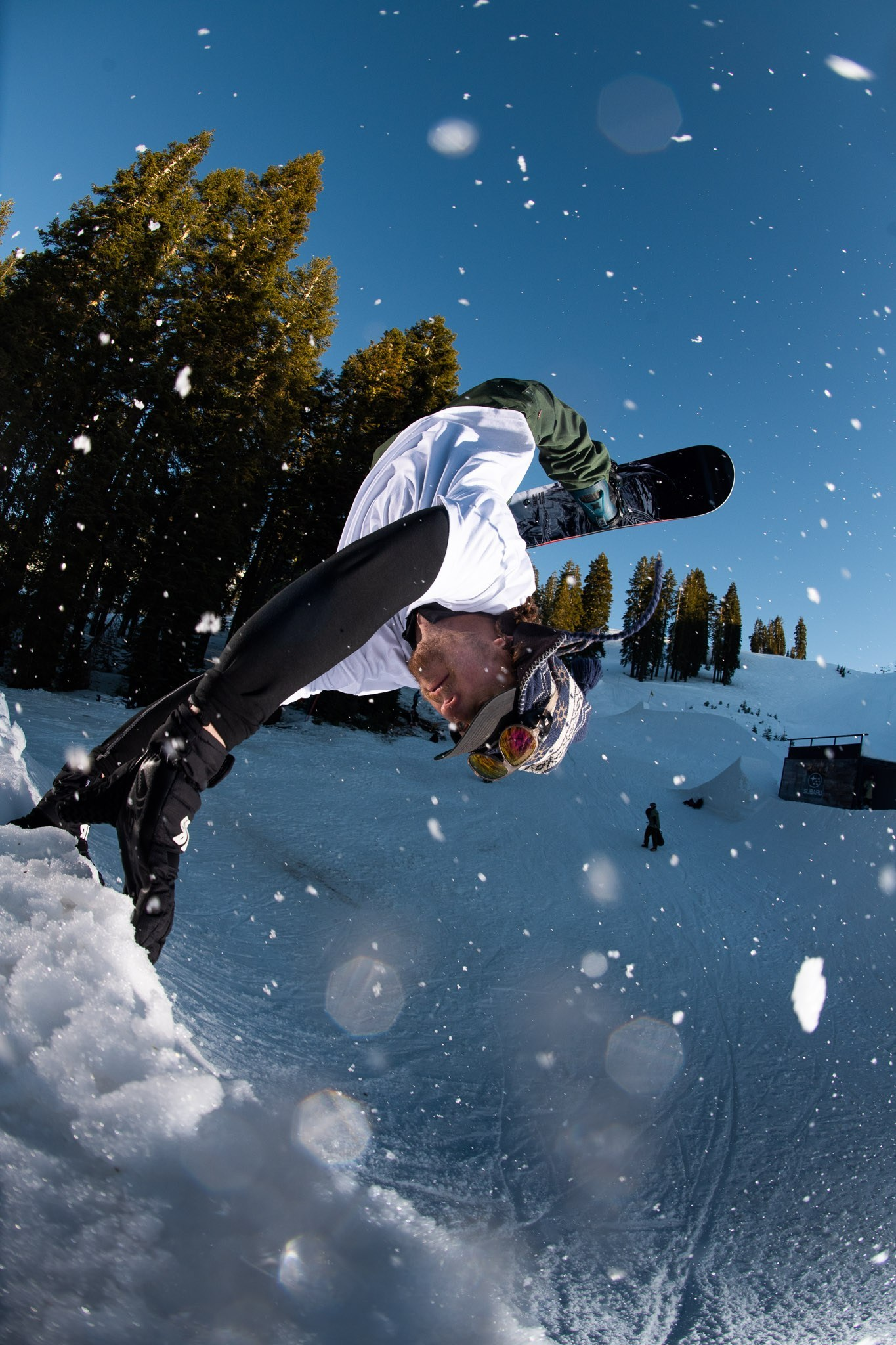 Lib Tech TRS at Boreal—Board Testing In The Pop-Up Park