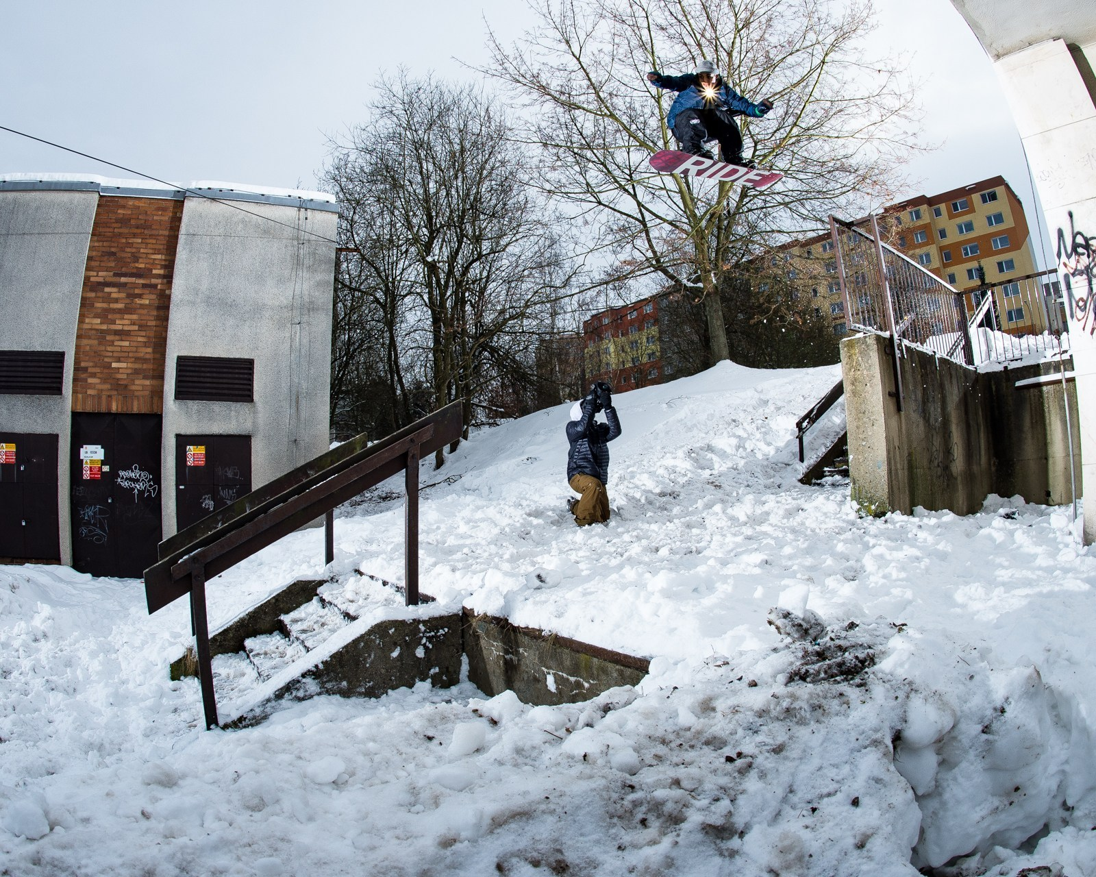 Ode to Ojo Dillon Ojo snowboarder feature