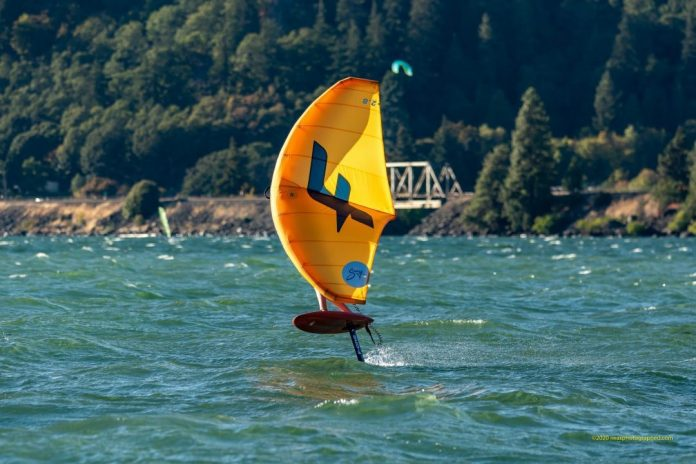 Chris MacDonald F-ONE Swing Wing Hood River Oregon