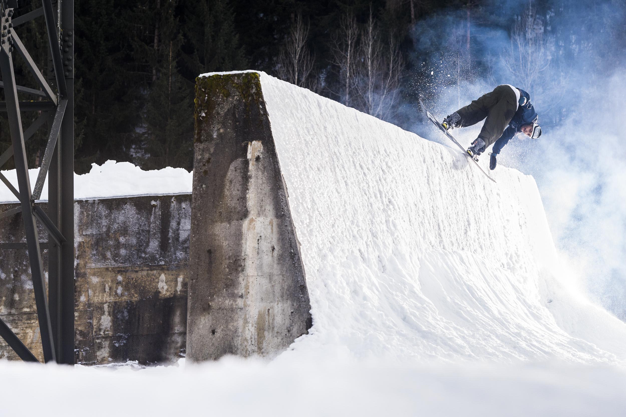 Dillon Ojo Snowboarder