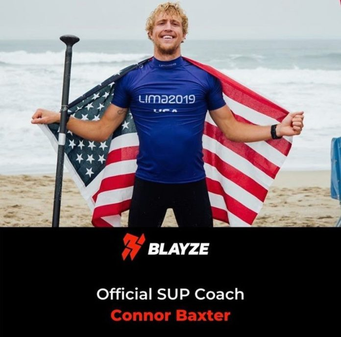Connor Baxter for Blayze coaching