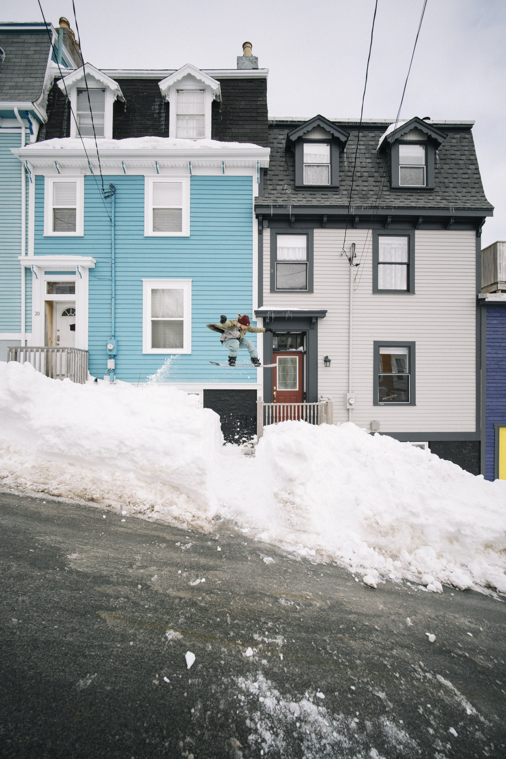 Patience of a Saint, Stranded in St. John's Newfoundland