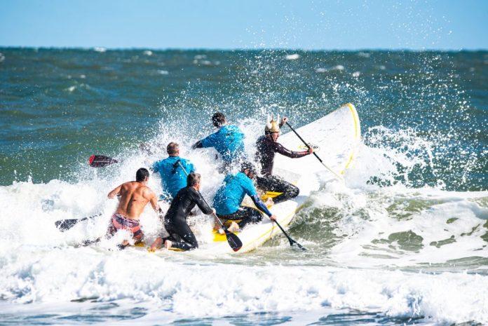 carolina pro am SUP surfing wrightsville beach north carolina laura glantz photography