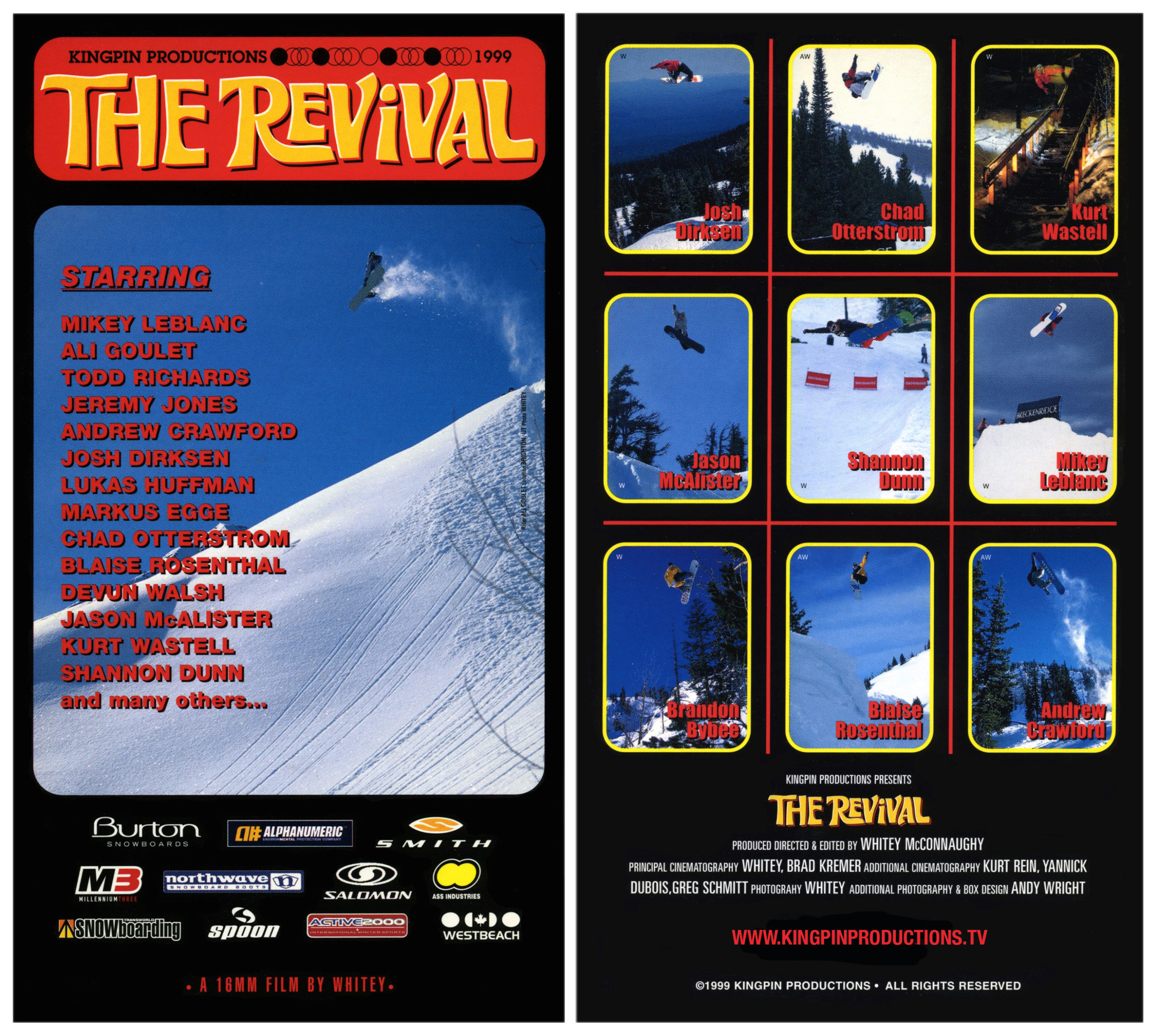 Kingpin Productions The Revival