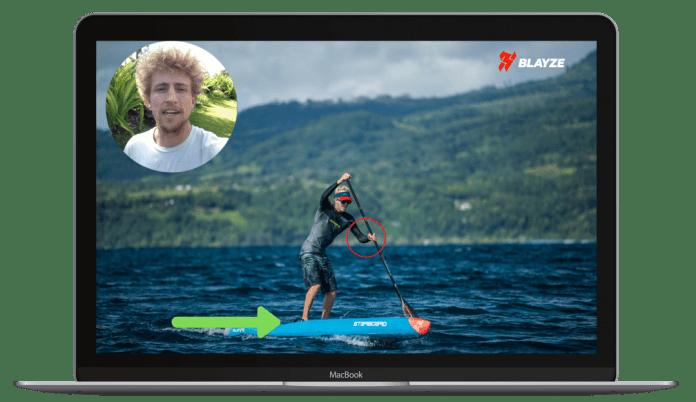 Connor Baxter Blayze online coaching SUP Surf